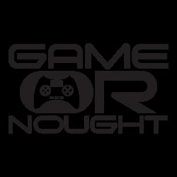 GameOrNought white logo