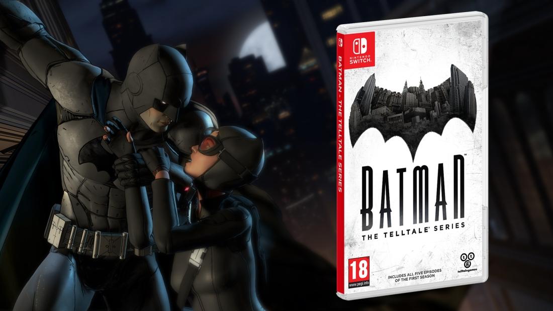 Batman Telltale Switch Art