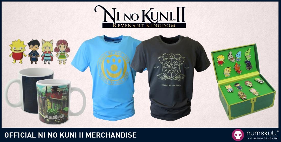 Ni No Kuni II Numskull Designs Range