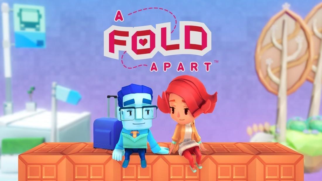 A Fold Apart Header