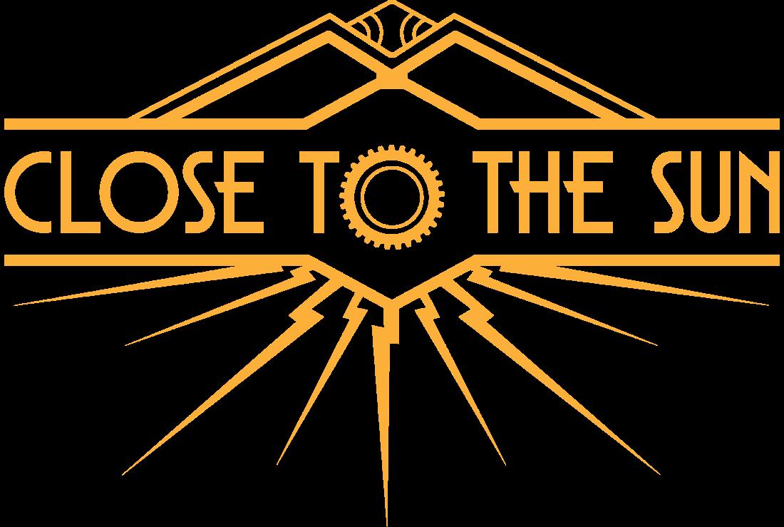 Close the the Sun Logo Yellow