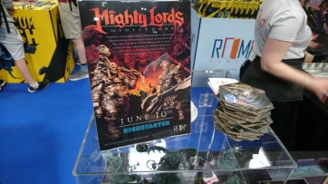 Room 17 Mighty Lords Standee