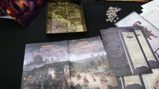 Warhammer Fantasy Roleplay Starter Set Contents