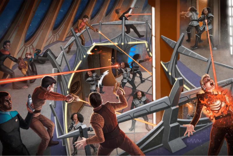 Star Trek Adventures Alpha Quadrant Illustrations