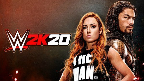 WWE 2K20 cover banner