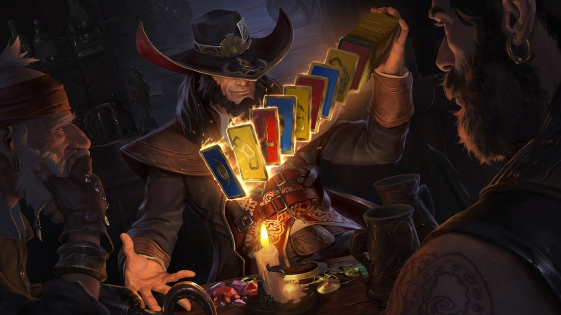 Twisted Fate Legends of Runeterra Art